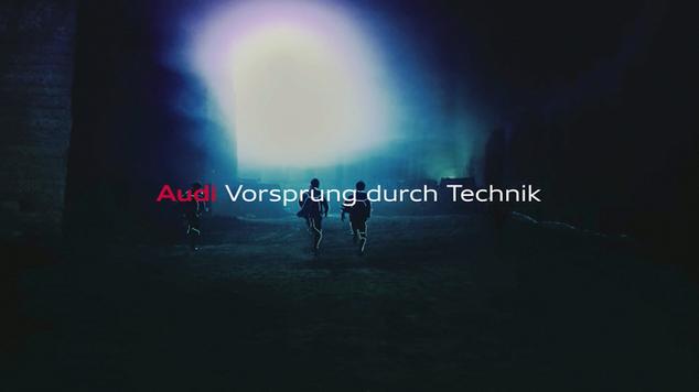 Audi Q2「型破り」シリーズ だるまさんが転んだ篇