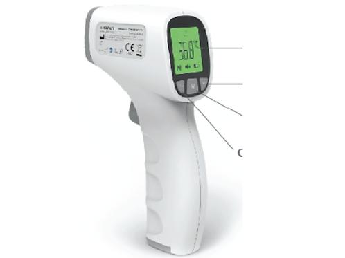 Termometro infrarossi CERT. CE