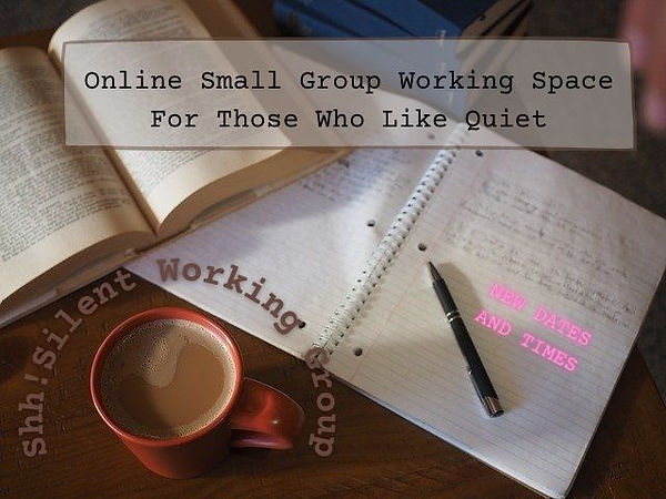 Online Small Group Working Space For Tho
