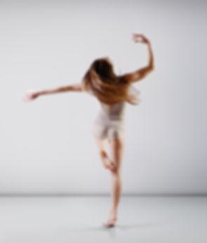 Danseuse de ballet adolescente