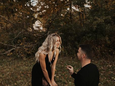 jamie + kenny, surprise proposal