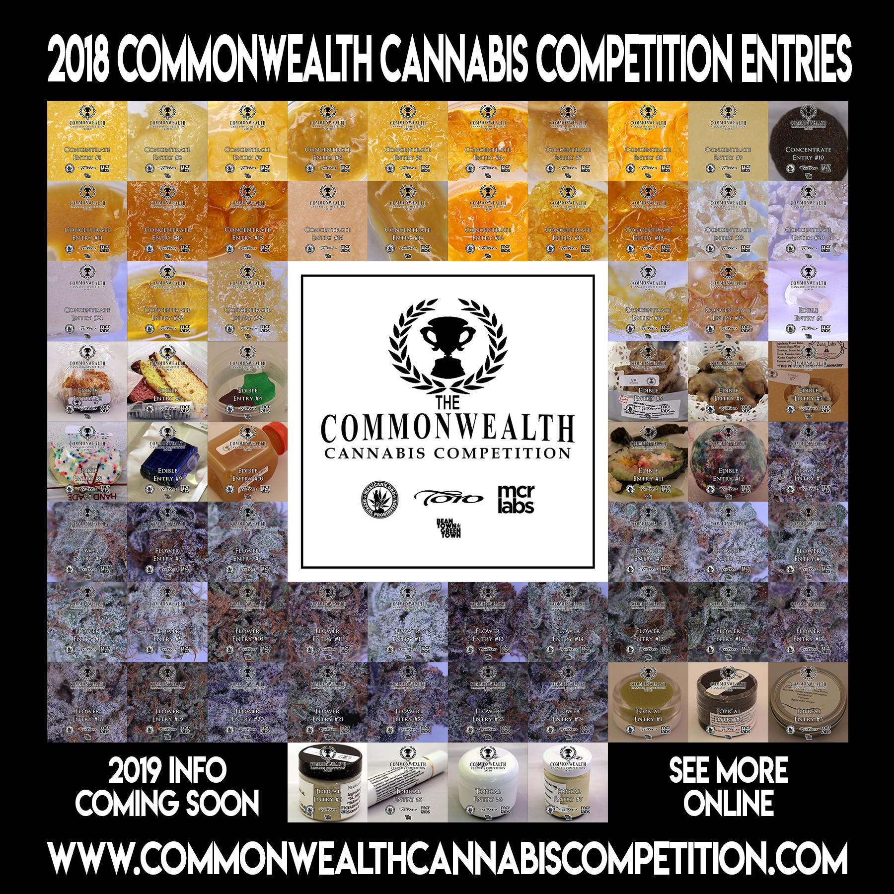 2018 entries