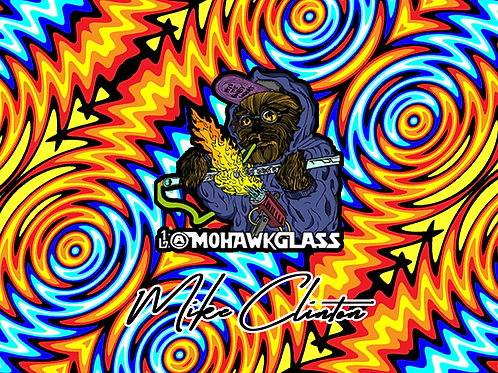 Mohawk Glass 'Fire and Ice'