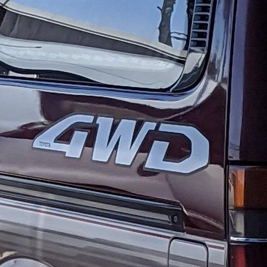 Jumbo 4WD Sticker Set