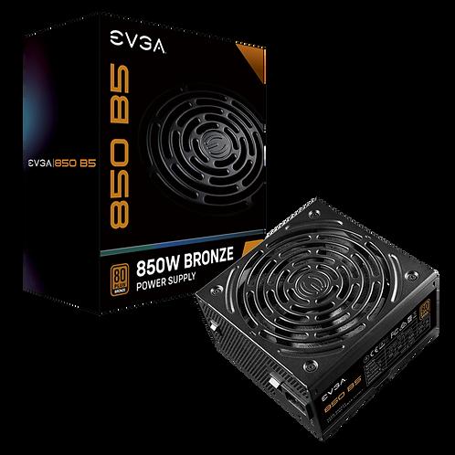 EVGA 850 B5, 80 Plus BRONZE 850W, Fully Modular, EVGA ECO Mode