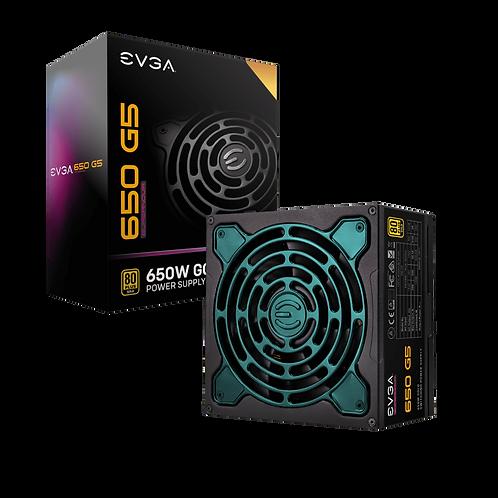 EVGA SuperNOVA 650 G5, 80 Plus Gold 650W, Fully Modular, Eco Mode with FDB Fan