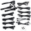 Thumbnail: EVGA 850 GQ, 80+ GOLD 850W, Semi Modular, EVGA ECO Mode