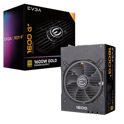 EVGA SuperNOVA 1600 G+, 80+ GOLD 1600W, Fully Modular