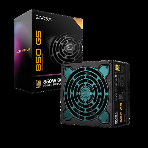 EVGA SuperNOVA 850 G5, 80 Plus Gold 850W, Fully Modular, Eco Mode with FDB Fan