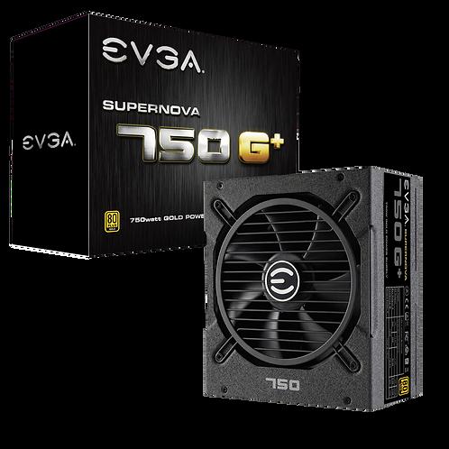 EVGA SuperNOVA 750 G+, 80 Plus Gold 750W, Fully Modular, FDB Fan