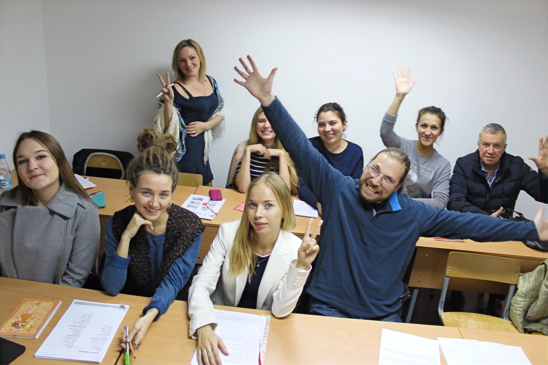 Ученики школы ИнЯз