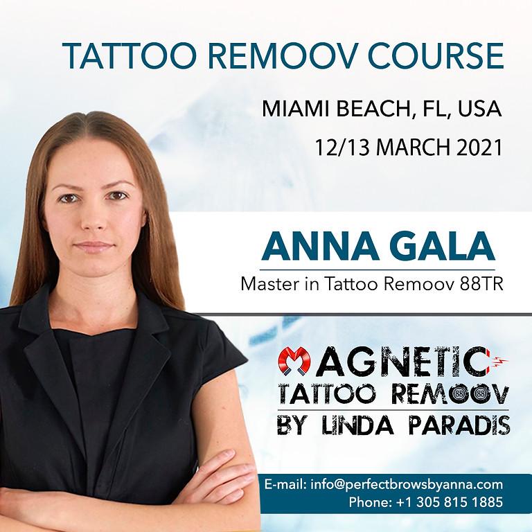 Live Tattoo Remoov Masterclass