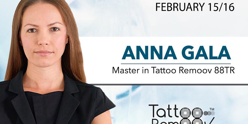 Masterclass Tattoo Remoov with Master Anna Gala