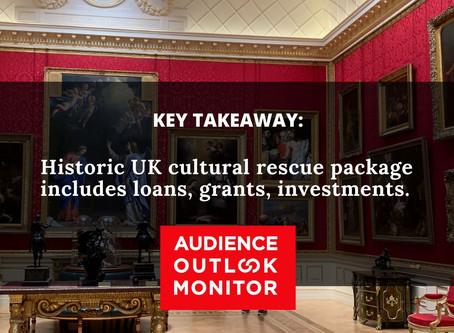 """£1.5bn lifeline to keep UK's arts afloat"""