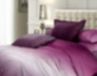 Комплект постельного белья из сатина Омбре