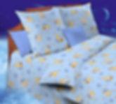 Детские комплекты постельного белья плотностью 120 г/м2