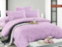Комплект постельного белья из сатина жаккард