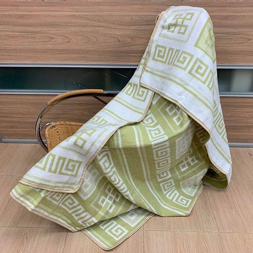 Плед-одеяло 1.5 спальный хлопковый ОБ-21