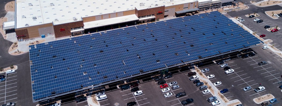 Fry's Food Stores - Solar Shade Structures