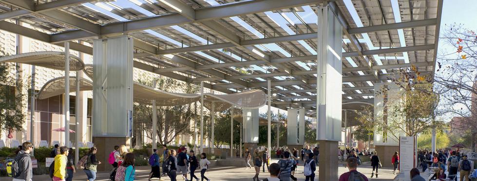 ASU Memorial Union Plaza - Solar Shade Structure