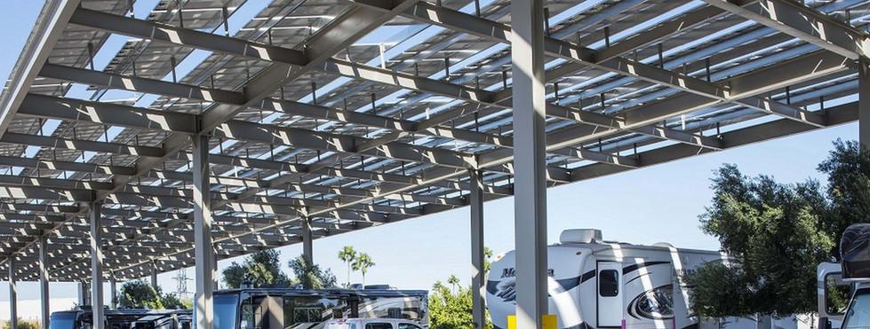 KOA Campgrounds - Solar Shade Structure