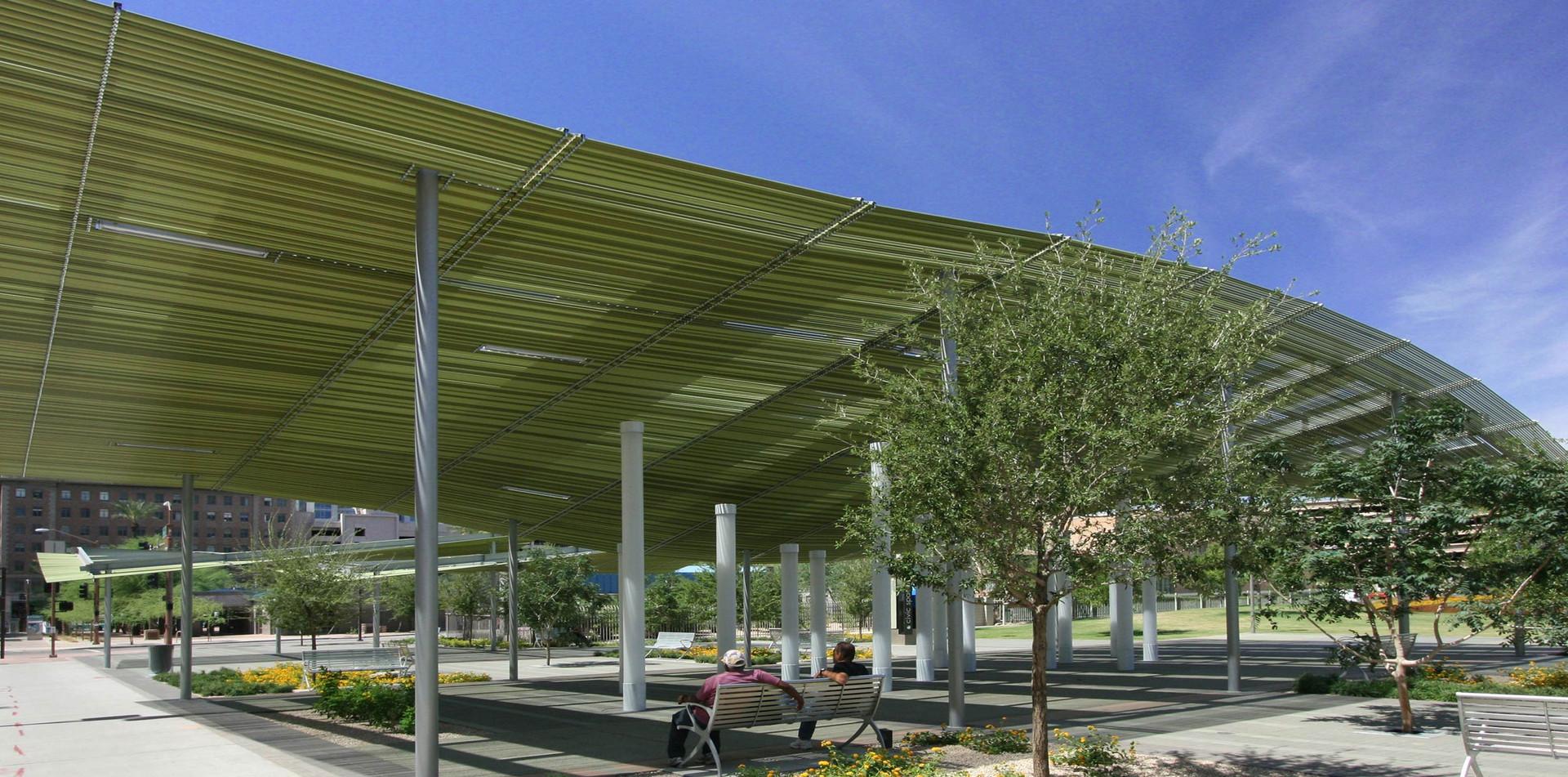 Phoenix Civic Space Canopies