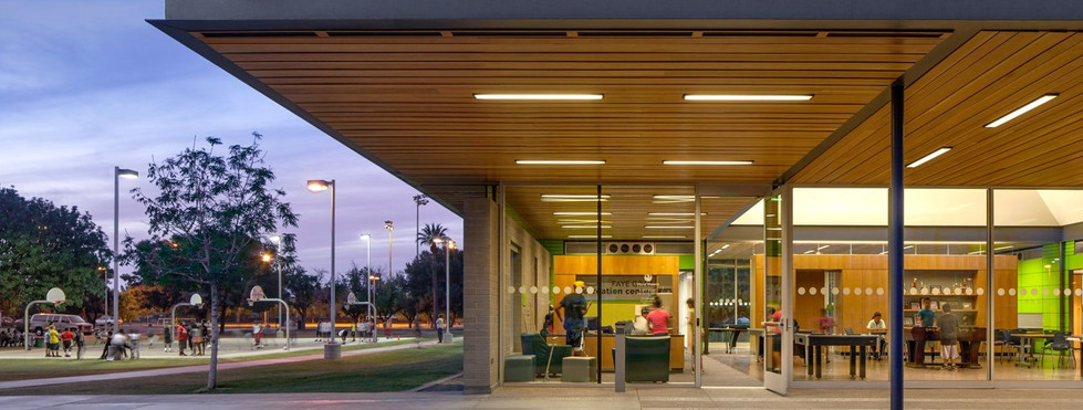 Faye Gray Recreation Center at Hermosa Park