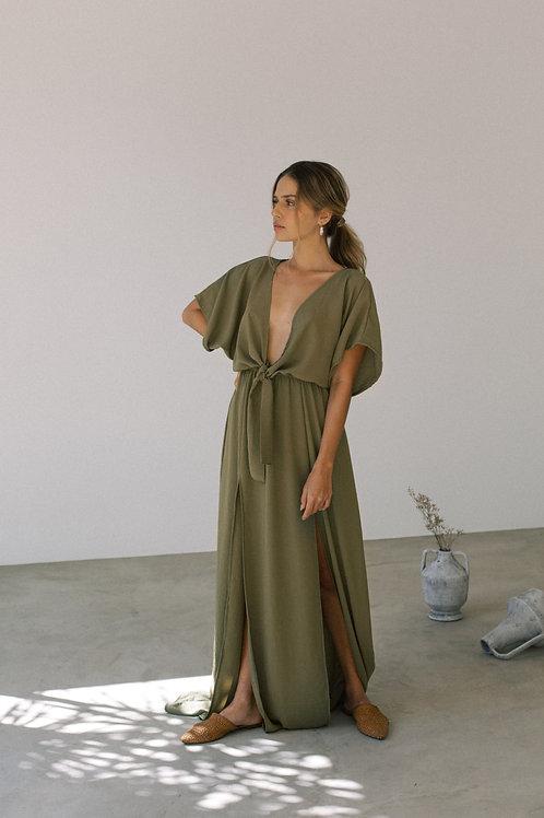 Vestido Ophelia Oliva