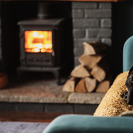 Cozy by the Fireplace