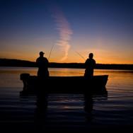 Fishing at Gull Lake