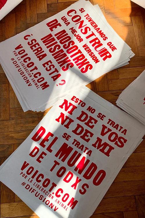 Pack x 6 - Afiche - Edición Pandemia