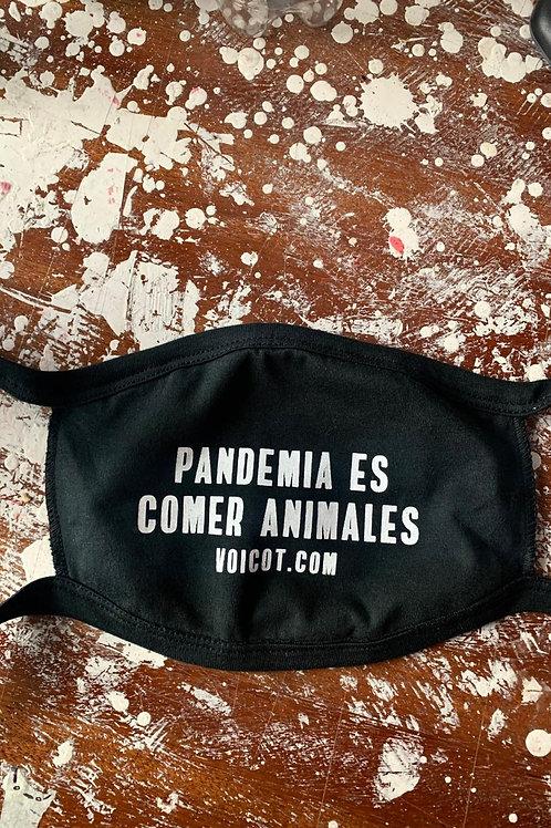 """Tapaboca """"Pandemia"""" + Afiche"""