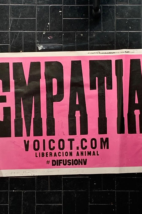 Afiche empatía
