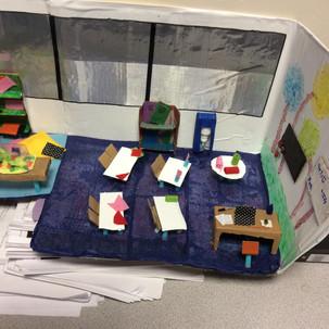 KS2 maths/design Little Rooms