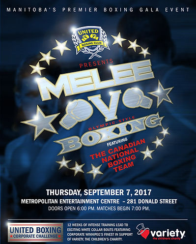 Melee Gala V Event Poster
