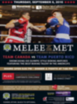 Melee IV Event Poster