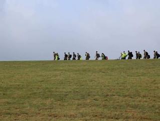 Nijmegen 2018 - November Training March