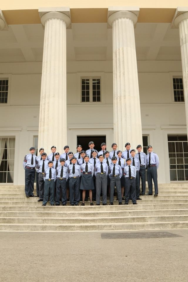 Oakington Air Cadets Visiting Sandhurst 2017