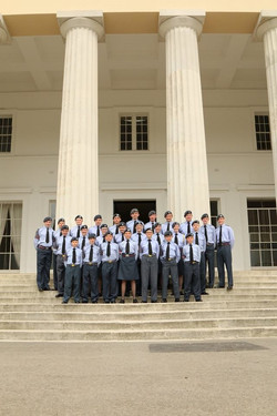 Oakington Air Cadets Visiting Sandhurst 2017