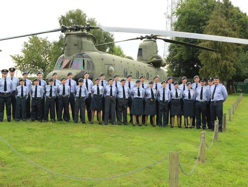 RAF Odiham Summer Camp 2017