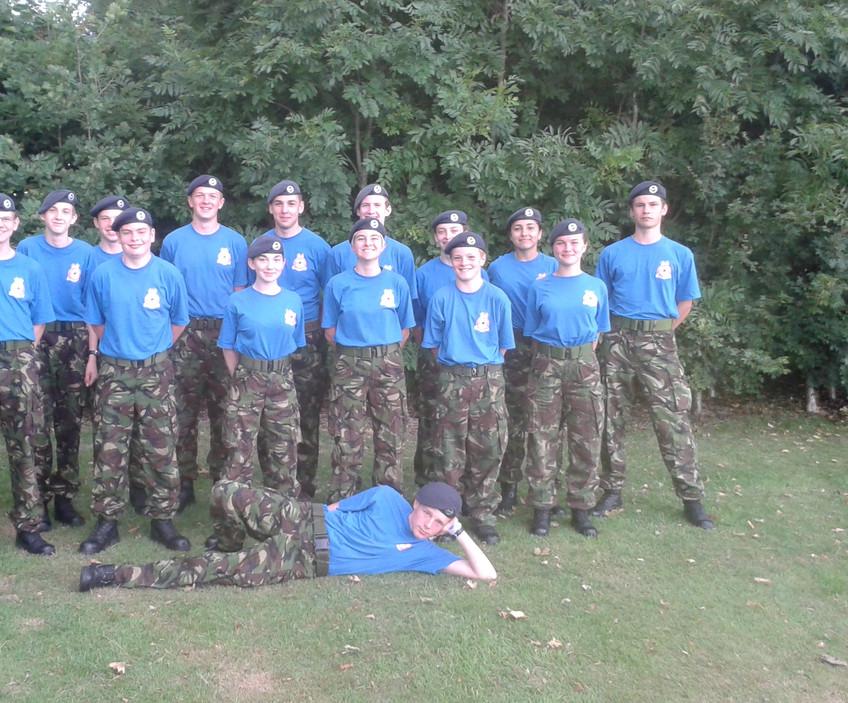 2524 (Oakington) Squadron Wing Field Team 2017
