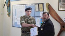 Oakington Squadron receive Royal British Legion award