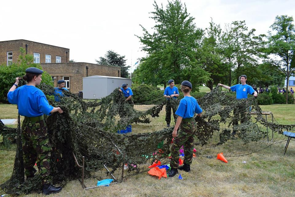 The Net Effect, Oakington Air Cadets WFW 2017 (1)