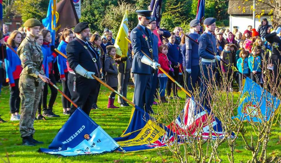 Remembrance Parade Histon 2017