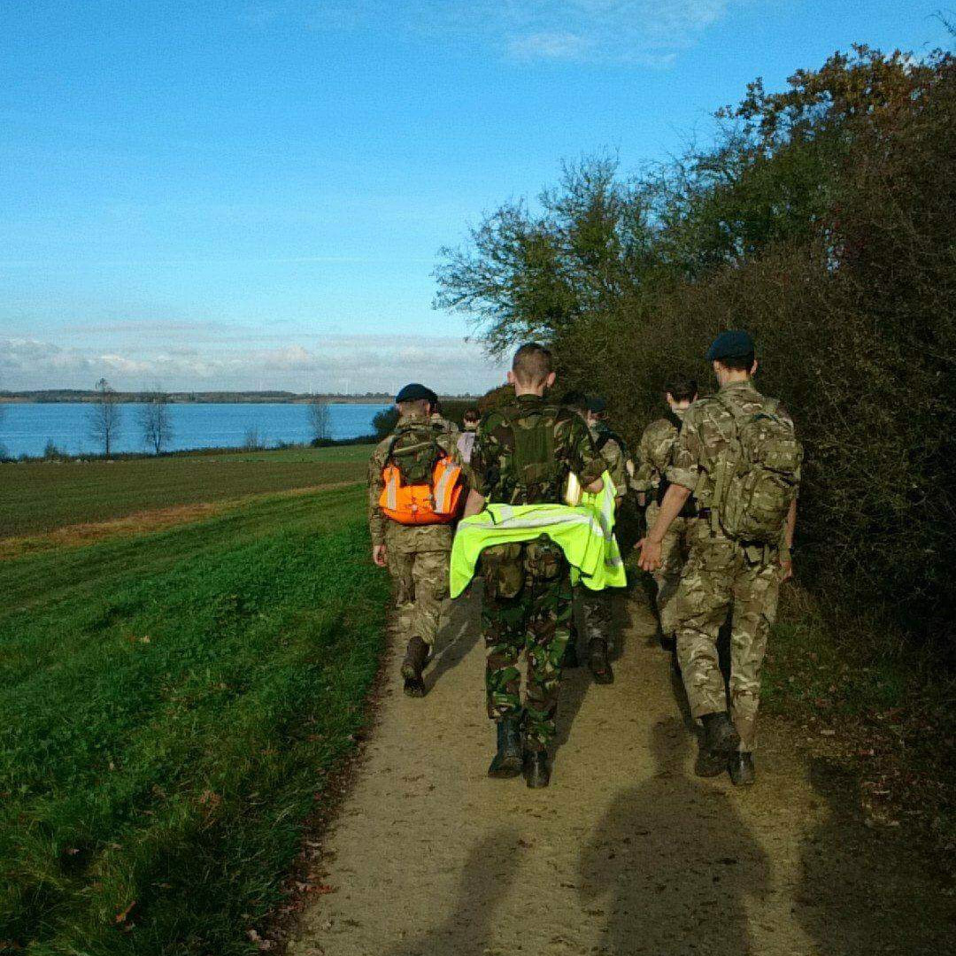 Nijmegen March Training