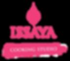 Issaya Cooking Studio - final logo white