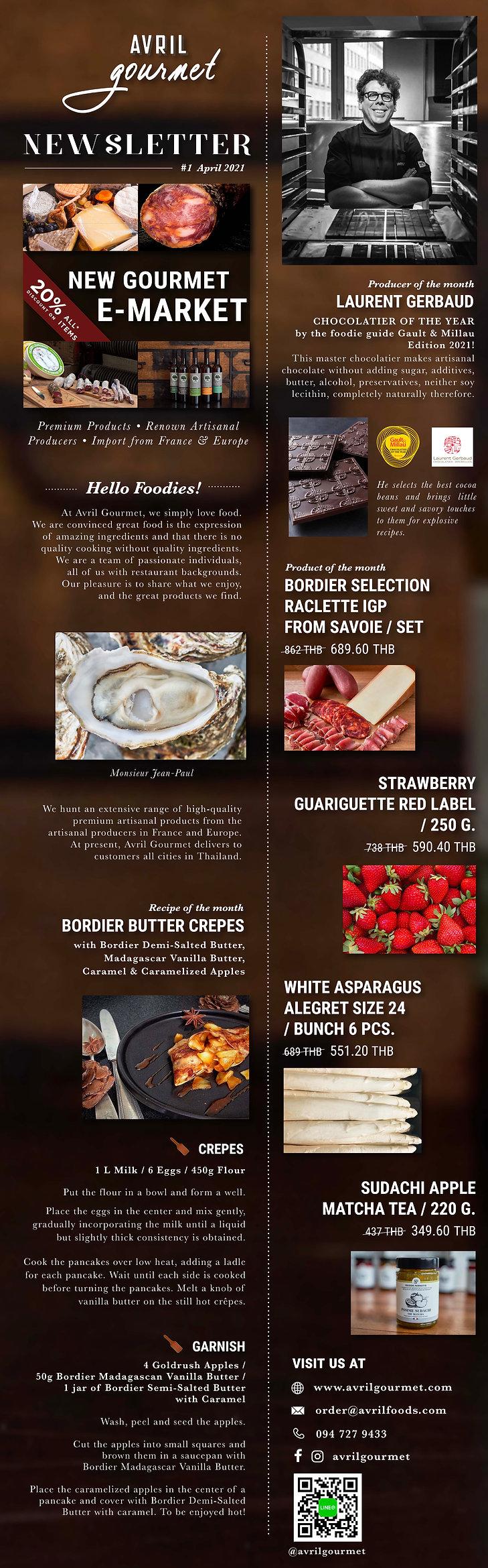 Avril gourmet_Newsletter April (2020.04.