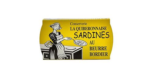 BORDIER DEMI SALT BUTTER SARDINES
