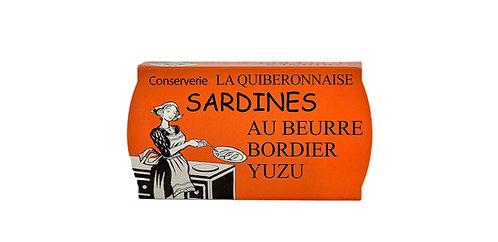 BORDIER YUZU BUTTER SARDINES