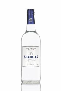 ABATILLES  GRAND CRU,  STILL WATER 75 CL.   /  12 bottles per box